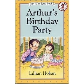 〈汪培珽英文書單〉〈An I Can Read系列:Level 2 〉Arthur's Birthday Party /讀本