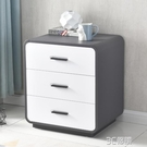 ins床頭櫃簡約現代儲物櫃輕奢北歐臥室床邊櫃白色收納整裝免安裝 3C優購