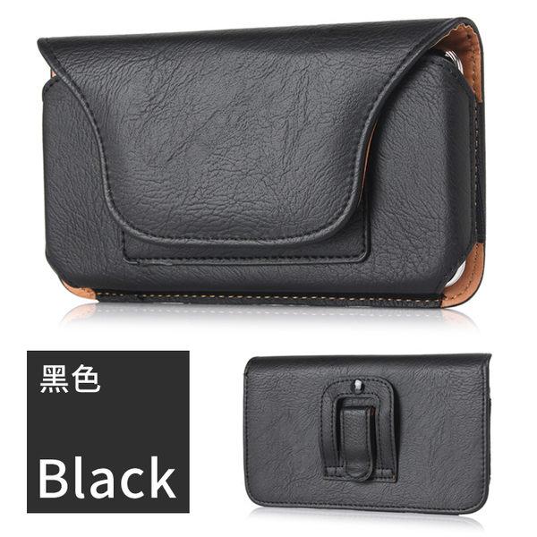 【MK馬克】6.3吋 皮質橫式手機皮套 腰帶式 腰扣式 皮帶式 手機套 腰包 可插卡 iPhone8 Note8 U11 Zenfone4