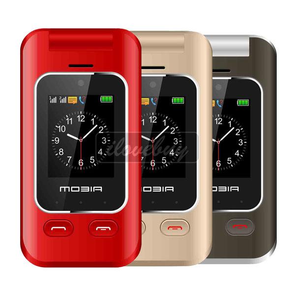 MOBIA 摩比亞 M800 3G折疊雙螢幕雙卡機 老人機 孝親機 字大鈴聲大 蝦皮優選 備用機