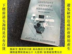 二手書博民逛書店The罕見Internet Writer s HandbookY