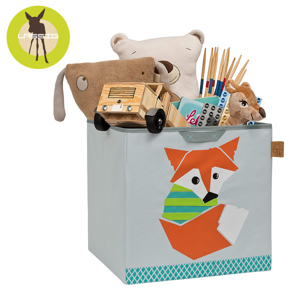 德國Lassig玩具儲物箱-小狐狸