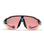 OAKLEY 太陽眼鏡 RADAR EV ADVANCER 黑藍 亞洲版 PRIZM色控科技 極致輕 (布魯克林) OAKOO94420538