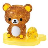 【拼圖總動員 PUZZLE STORY】拉拉熊與小黃雞 日系/Beverly/41P/懶懶熊/立體透明塑膠