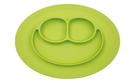 美國 EZPZ HAPPY MAT MINI 迷你餐盤/餐具/安全/無毒/矽膠 蘋果綠