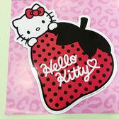 【震撼精品百貨】Hello Kitty 凱蒂貓~凱蒂貓 HELLO KITTY 車用大磁鐵-草莓