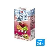 泰山冰鎮水果茶TP250ml*24【愛買】