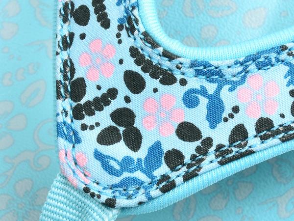 《Spenco》BLOOM 女 小碎花涼拖鞋 藍色 SF39-872