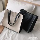 托特包 包包女包2021新款高級感洋氣質感時尚百搭大容量側背托特手提大包 新品