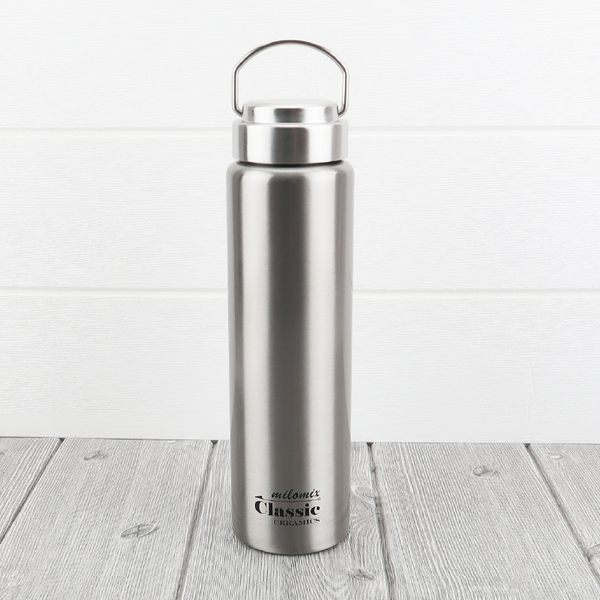milomix316經典陶瓷保溫杯750ml保冷保溫瓶上蓋提把-大廚師百貨