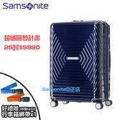 [佑昇]現貨 Samsonite 新秀麗 25吋行李箱 ASTRA DY2 超值圓夢計畫年輪箱 PC輕量可擴充飛機輪+送原廠綁帶