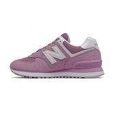 New Balance 女款粉紫色經典復刻鞋-NO.WL574OAC