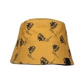 KAPPA 漁夫帽(純棉 雙面戴 防曬 遮陽 運動 帽子≡體院≡ 321938W-005