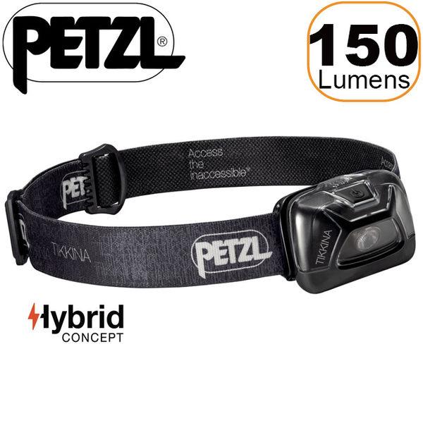 PETZL E91-ABA黑 2017新款 Tikkina 高亮度LED頭燈