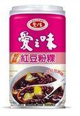 愛之味蒟蒻紅豆粉粿340g*6罐/組【合迷雅好物超級商城】