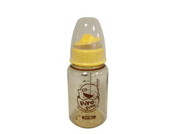 黃色小鴨 媽咪乳感PPSU防脹氣奶瓶-標準140ml (十字孔)【佳兒園婦幼館】