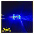 ◤大洋國際電子◢10mm透明殼 藍光 高亮度LED (250PCS/包) 0629-BL LED 二極管