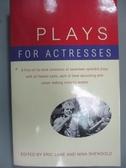 【書寶二手書T8/原文小說_LGU】Plays for Actresses_Lane, Eric (EDT)/ Shen
