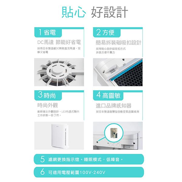 *元元家電館*Kolin 歌林 HEPA H13 醫療級濾網 智慧型DC直流空氣清淨機 KAC-A101