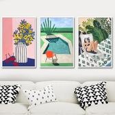 diy數字油彩畫抽象上色畫現代手工填充涂色 數字油畫【聚寶屋】