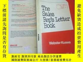 二手書博民逛書店The罕見Sales Reps Letter BookY1891