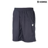K-Swiss Piping Shorts運動短褲-男-黑