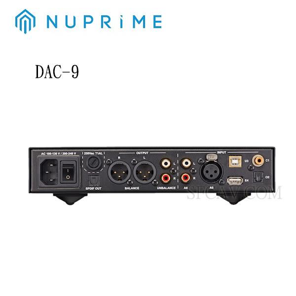 【新竹勝豐群音響】NUPRIME DAC-9 前級擴大機+DAC