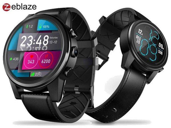 大錶面版 Zeblaze THOR 4 Pro 4G 手錶手機 插卡通話上網 安卓 7.1 繁體中文
