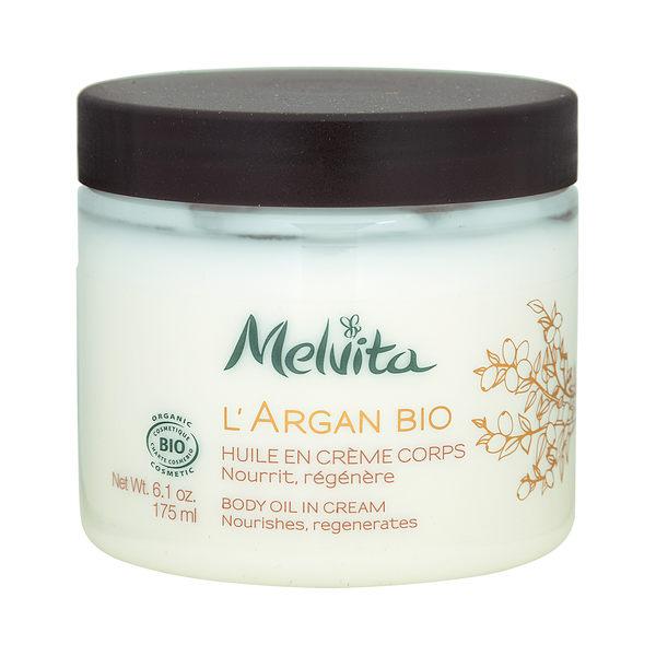Melvita 蜜葳特 L Argan Bio 天然摩洛哥堅果油潤乳霜(適合乾性及缺水膚質)6.1oz,175ml ~