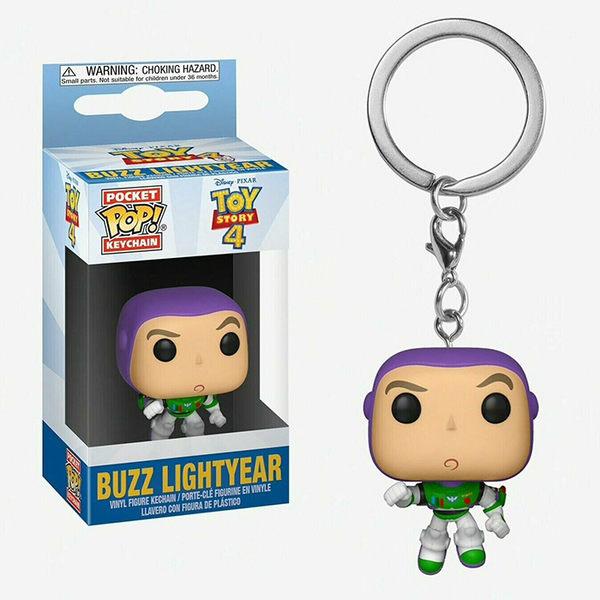 Funko POP! 鑰匙圈 迪士尼 玩具總動員4 巴斯光年 Buzz Lightyear 【鯊玩具Toy Shark】