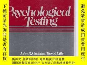 二手書博民逛書店psychological罕見Testing 【館藏有章】Y13