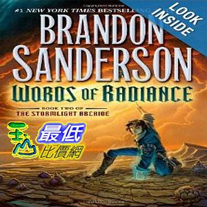 【103玉山網】 2014 美國銷書榜單 Words of Radiance (The Stormlight Archive, Book 2)   $989