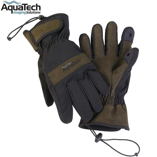又敗家AquaTech防水雙層快乾透氣SENSORY保暖手套#1752適出國外旅遊保暖防寒手套