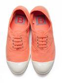 【BENSIMON】經典綁帶款(女)-粉橘色