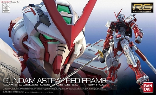 鋼彈模型 RG 1/144 GUNDAM ASTRAY RED FRAME 紅色異端鋼彈 TOYeGO 玩具e哥