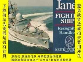 二手書博民逛書店Janes罕見Fighting Ships Recognition Handbook-珍妮斯戰艦識別手冊Y44