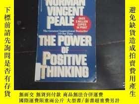 二手書博民逛書店THE罕見POWER OF POSITIVE THINKINGY