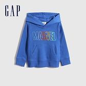 Gap男幼童 Gap x Marvel 漫威系列連帽休閒上衣 959040-藍色