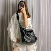 鍊條包大包包女潮韓版簡約學生大容量手提包百搭鍊條側背斜背包 美物居家