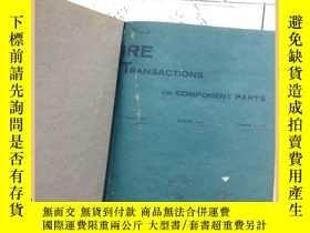 二手書博民逛書店IRE罕見transactions on component p