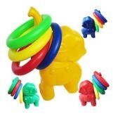 幼兒園大象套圈玩具兒童戶外運動感統訓練器材 親子大象投擲套圈洛麗的雜貨鋪