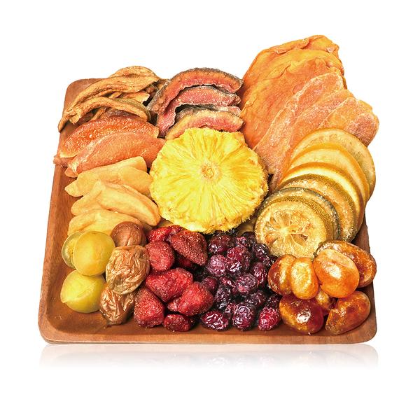 橙姑娘 菓然幸福水果干【單包優惠$120】果乾 精選優質水果SGS認證 低卡零食/野餐/下午茶