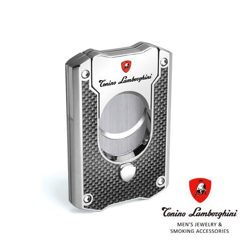 義大利 藍寶堅尼精品 - LES MANS CIGAR CUTTER 雪茄剪(黑色碳纖維) ★ Tonino Lamborghini 原廠進口 ★