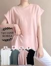 [預購+現貨]韓國-摺袖素T(4色)-上衣-74002680 -pipima-53