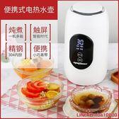 快煮壺通用電燒水煮茶快速110v可用恒溫電水壺家用自動斷電自動保溫戶外 摩可美家