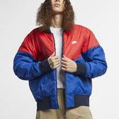 NIKE NSW MA-1 鋪棉 深藍 紅藍 兩面穿 外套 保暖 男 AR2184-451 ☆SP☆