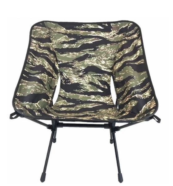 [好也戶外]OWL CAMP 迷彩系列輕量收納椅 虎斑 NO.SN-1726