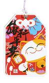 【金石工坊】旅行平安行李吊牌-招財貓 證件套 旅行箱吊牌 悠遊卡套