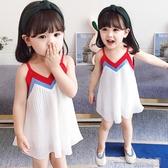 女童裙子新款1寶寶夏裝2兒童吊帶連身裙3小童女孩公主洋氣4歲(聖誕新品)