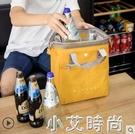 大號手提保溫便當包飯盒包復古加厚防水款便當袋可裝啤酒和紅酒 NMS小艾新品
